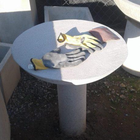 Mesa Tata para jardín de hormigón armado H25